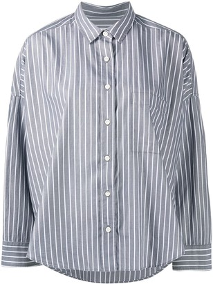 Closed Striped Cotton Shirt