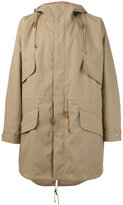 Stella McCartney technical parka jacket