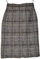 Ungaro Ecru Wool Skirt for Women