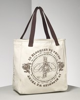 """Medium """"In Bloomie's We Trust"""" Recycled Cotton Canvas Tote Bag"""