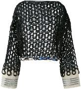 Aviu open knit jumper - women - Cotton/Polyamide/Polyester/Viscose - 42