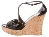 Christian Dior Cork Platform Wedges