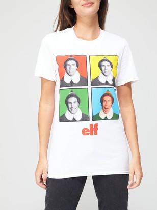 Very Elf Graphic T-Shirt - White