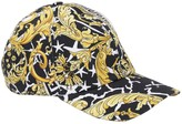 Versace BAROCCO & STAR PRINT COTTON BASEBALL HAT