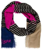 Diane von Furstenberg Wool & Silk Stripe Shawl