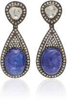 Amrapali 18K Gold Tanzanite And Diamond Earrings