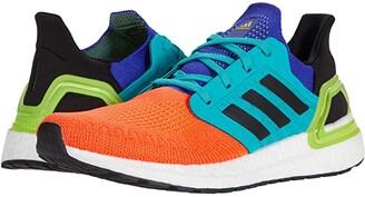 adidas Ultraboost 20 (Core Black/Core Black/Signal Orange) Men's Running Shoes