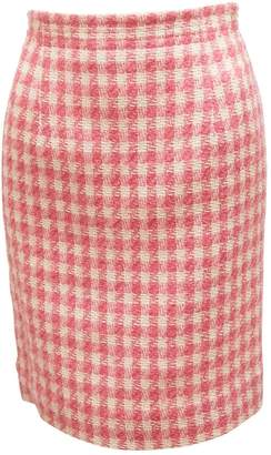 Courreges Pink Tweed Skirts