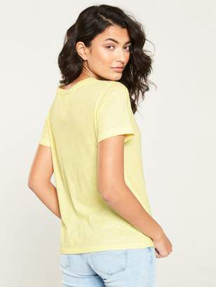 Tommy Jeans Summer Essential T-Shirt - Yellow