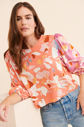 NATIVE YOUTH The Terrazzo Blouse