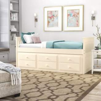 Darby Home Co Smotherman Twin Daybed with Trundle Darby Home Co