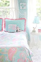 My Baby Sam Pixie Full Bedding Set - Aqua/ Pink by