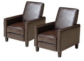 Christopher Knight Home Darvis Contemporary Bonded Leather Recliner