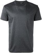 Alexander McQueen skull insert T-shirt - men - Cotton - XL