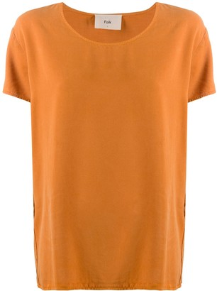 Folk crew neck short-sleeved T-Shirt