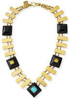 Ashley Pittman Pevu Necklace w/ Turquoise & Citrine