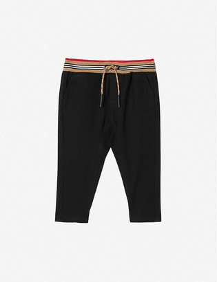 Burberry Dilan cotton-twill trousers 6-24 months