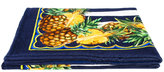 Dolce & Gabbana pineapple beach scarf - women - Cotton - One Size
