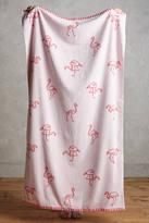 Anthropologie Flamingo Beach Towel