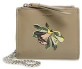 AllSaints Women's Flora Leather Wristlet - Beige