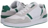 Lacoste T-Clip 120 3 US (White/Green) Men's Shoes