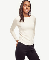 Ann Taylor Petite Boatneck Sweater