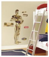Star Wars RoomMates Classic C3PO Peel & Stick Giant Wall Decal