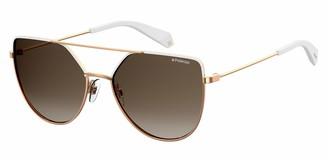 Polaroid Women's Pld 6057/s 201350VK658LA Square Sunglasses 58 mm