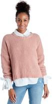Sole Society Chunky Drop Sleeve Sweater
