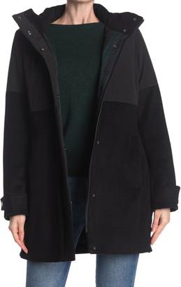 Pendleton Steamboat Wool Blend Hybrid Coat