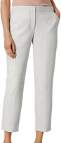 LK Bennett L.K.Bennett Lize Tailored Trousers, Grey Melange