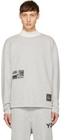 Diesel Grey S-Osvaldo-LS-RA Sweatshirt