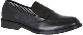 Oxford Tony Leather Slip On Shoe Blk X