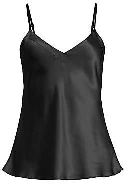 Ginia Women's Silk V-Neck Cami