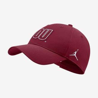 Nike Adjustable Hat Jordan College Legacy91 Local (Oklahoma)
