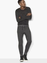 John Varvatos Marled Knit Sweatpants