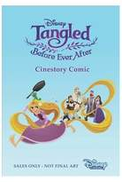 Disney Tangled Before Ever After Cinestory Comic (Paperback)