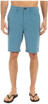 Billabong Crossfire X Mini Plaid Hybrid Shorts