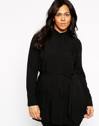 Club L Plus Longline Relaxed Shirt