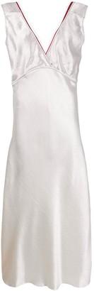 Marni Net-Trimmed Midi Dress