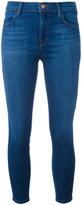 J Brand Alana jeans - women - Cotton/Polyester/Spandex/Elastane - 28