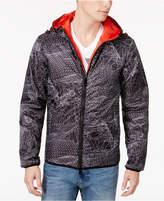 Armani Exchange Men's Web-Print Hooded Jacket
