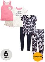Very Girls Floral Pyjamas Set