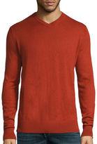 ST. JOHN'S BAY St. John's Bay Long-Sleeve Fine-Gauge Sweater