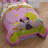 Disney Minnie Bowtique Garden Party All Season Down Alternative Comforter