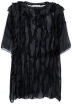 Faith Connexion oversized ruffle blouse - women - Silk - S