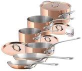 Mauviel M'150S Cookware Set - Copper - 10 pc