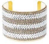 Charlotte Russe Plus Size Embellished Chevron Cuff Bracelet