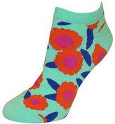 Kate Spade Floral Patterned Ankle Socks