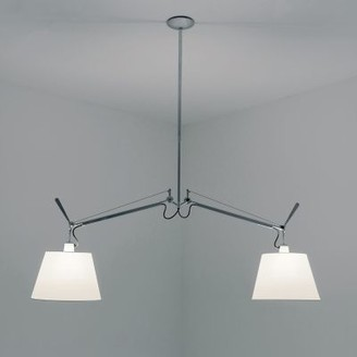 Artemide Tolomeo Double Shade Pendant Light